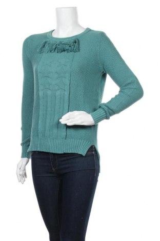 Γυναικείο πουλόβερ Karl Marc John, Μέγεθος XS, Χρώμα Μπλέ, Βαμβάκι, Τιμή 46,01€