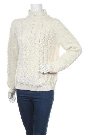 Γυναικείο πουλόβερ Laura Torelli, Μέγεθος M, Χρώμα Λευκό, Πολυακρυλικό, Τιμή 10,13€