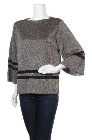 Γυναικείο πουλόβερ Lauren Vidal, Μέγεθος S, Χρώμα Χρυσαφί, 80% βισκόζη, 20% πολυεστέρας, Τιμή 49,87€