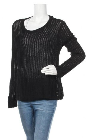 Γυναικείο πουλόβερ Lee Cooper, Μέγεθος XL, Χρώμα Μαύρο, Βαμβάκι,ακρυλικό, Τιμή 10,18€