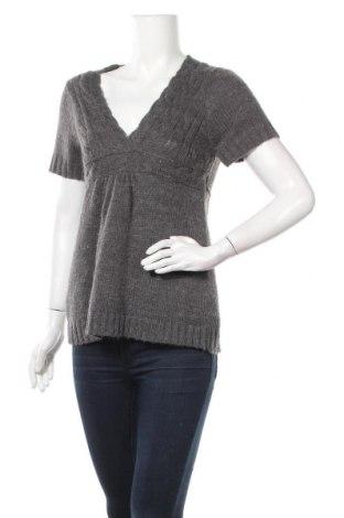 Дамски пуловер Mbj, Размер M, Цвят Сив, 90% акрил, 10% полиамид, Цена 6,56лв.