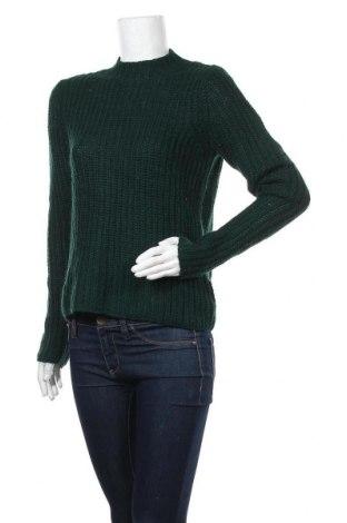 Γυναικείο πουλόβερ Monki, Μέγεθος S, Χρώμα Πράσινο, 60%ακρυλικό, 15% μαλλί από αλπακά, 15% μαλλί, Τιμή 8,19€