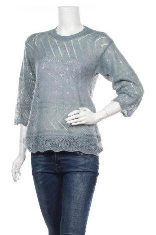 Γυναικείο πουλόβερ Noa Noa, Μέγεθος S, Χρώμα Μπλέ, 40% πολυαμίδη, 30% κασμίρι, 30% μαλλί, Τιμή 32,22€