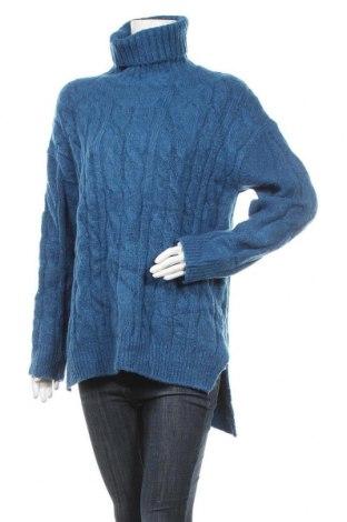 Γυναικείο πουλόβερ OAK + FORT, Μέγεθος XL, Χρώμα Μπλέ, 75%ακρυλικό, 22% πολυεστέρας, 3% ελαστάνη, Τιμή 35,79€
