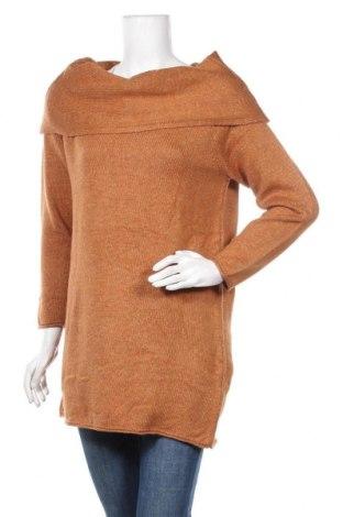 Γυναικείο πουλόβερ ONLY, Μέγεθος M, Χρώμα Καφέ, 81%ακρυλικό, 19% πολυεστέρας, Τιμή 17,28€