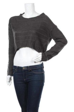 Γυναικείο πουλόβερ ONLY, Μέγεθος L, Χρώμα Γκρί, Ακρυλικό, Τιμή 13,58€