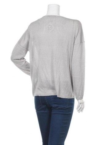 Γυναικείο πουλόβερ ONLY, Μέγεθος L, Χρώμα Γκρί, 80% βισκόζη, 20% μεταλλικά νήματα, Τιμή 10,04€