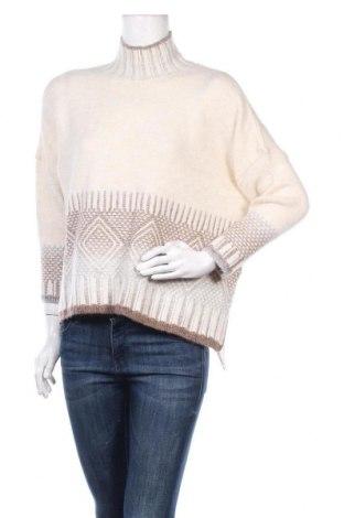 Γυναικείο πουλόβερ ONLY, Μέγεθος S, Χρώμα Εκρού, 74%ακρυλικό, 25% πολυεστέρας, 1% ελαστάνη, Τιμή 19,74€