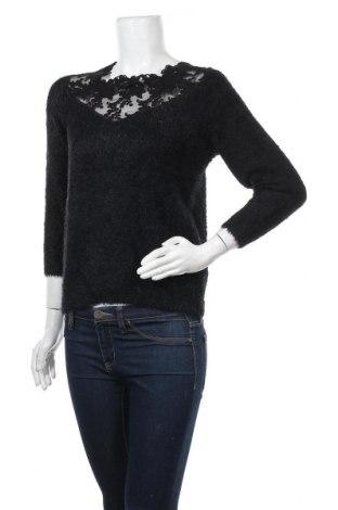 Дамски пуловер Orsay, Размер M, Цвят Черен, Памук, полиамид, акрил, полиестер, Цена 23,10лв.