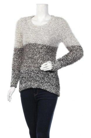 Γυναικείο πουλόβερ Question?, Μέγεθος L, Χρώμα Γκρί, 45%ακρυλικό, 30% πολυεστέρας, 25% μαλλί, Τιμή 5,98€
