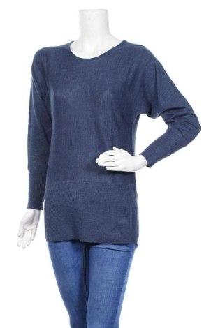 Γυναικείο πουλόβερ Rodier, Μέγεθος S, Χρώμα Μπλέ, 60% μαλλί, 40%ακρυλικό, Τιμή 33,10€