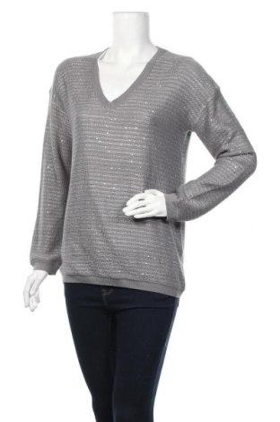 Γυναικείο πουλόβερ S.Oliver, Μέγεθος M, Χρώμα Γκρί, Τιμή 13,58€
