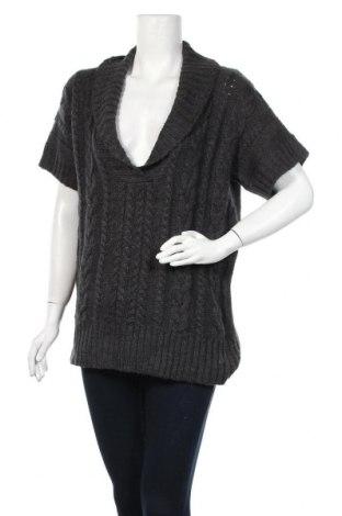 Γυναικείο πουλόβερ S.Oliver, Μέγεθος L, Χρώμα Γκρί, 77% πολυακρυλικό, 12% βαμβάκι, 11% μαλλί από αλπακά, Τιμή 16,66€