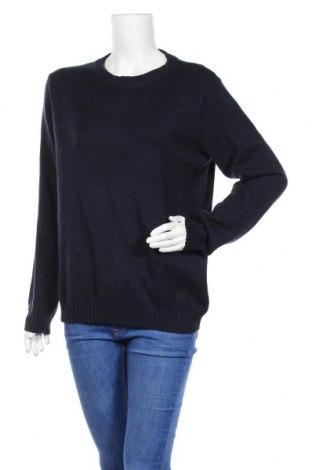 Γυναικείο πουλόβερ Soya Concept, Μέγεθος XL, Χρώμα Μπλέ, 50% βισκόζη, 27% πολυεστέρας, 23% πολυαμίδη, Τιμή 17,54€