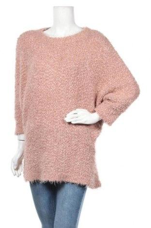 Γυναικείο πουλόβερ Think Positive, Μέγεθος L, Χρώμα Ρόζ , 70%ακρυλικό, 30% πολυαμίδη, Τιμή 16,05€