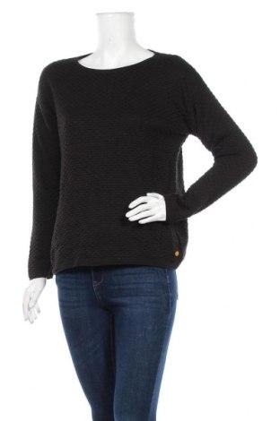 Γυναικείο πουλόβερ Tom Tailor, Μέγεθος L, Χρώμα Μαύρο, 100% βαμβάκι, Τιμή 21,59€