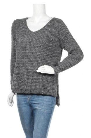 Γυναικείο πουλόβερ Une Saison a Paris, Μέγεθος S, Χρώμα Γκρί, Ακρυλικό, Τιμή 7,22€