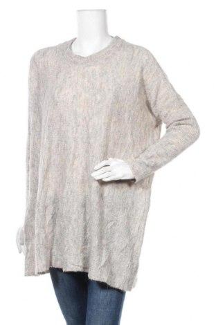 Γυναικείο πουλόβερ Vero Moda, Μέγεθος M, Χρώμα Γκρί, 54%ακρυλικό, 26% πολυαμίδη, 11% μαλλί από αλπακά, 9% μαλλί, Τιμή 19,12€