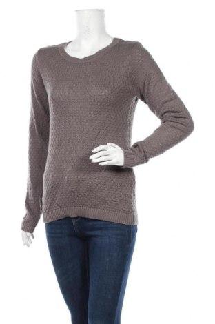 Γυναικείο πουλόβερ Vila, Μέγεθος S, Χρώμα Γκρί, 50% βαμβάκι, 50%ακρυλικό, Τιμή 6,59€
