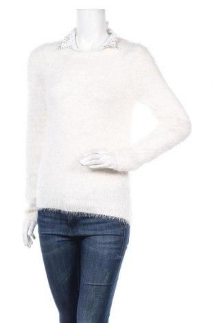 Γυναικείο πουλόβερ Yes Or No, Μέγεθος M, Χρώμα Λευκό, 72% πολυαμίδη, 28%ακρυλικό, Τιμή 16,66€