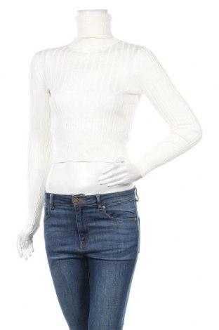 Дамски пуловер Zara, Размер S, Цвят Екрю, 72% вискоза, 28% полиамид, Цена 19,64лв.