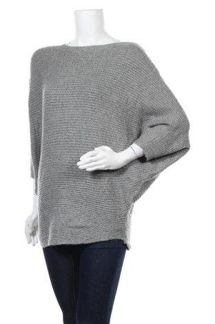 Γυναικείο πουλόβερ Zavanna, Μέγεθος M, Χρώμα Γκρί, 75%ακρυλικό, 16% πολυαμίδη, 9% μοχαίρ, Τιμή 17,28€
