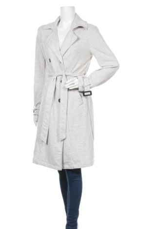 Дамски шлифер Amisu, Размер L, Цвят Сив, 62% полиестер, 33% памук, 5% еластан, Цена 24,99лв.