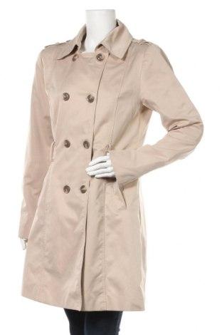 Дамски шлифер Flame, Размер L, Цвят Бежов, Полиестер, Цена 32,08лв.