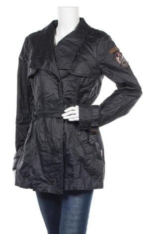 Дамски шлифер Khujo, Размер XL, Цвят Сив, Памук, Цена 25,46лв.