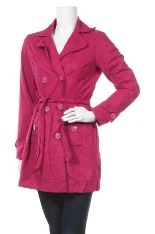 Дамски шлифер Miss H., Размер M, Цвят Розов, 658% полиестер, 35% памук, Цена 13,86лв.