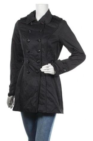 Дамски шлифер Orsay, Размер S, Цвят Черен, 47% полиестер, 44% памук, 9% полиамид, Цена 20,48лв.
