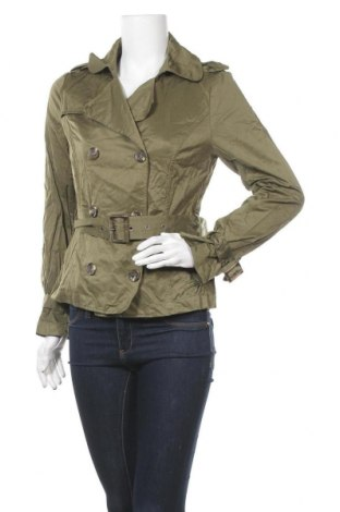 Дамски шлифер Orsay, Размер M, Цвят Зелен, 36% памук, 51% полиестер, 13% полиамид, Цена 10,14лв.