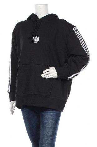 Дамски суичър Adidas Originals, Размер M, Цвят Черен, 95% памук, 5% еластан, Цена 81,75лв.