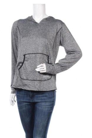 Дамски суичър Crivit, Размер XL, Цвят Сив, 89% полиестер, 11% еластан, Цена 18,95лв.