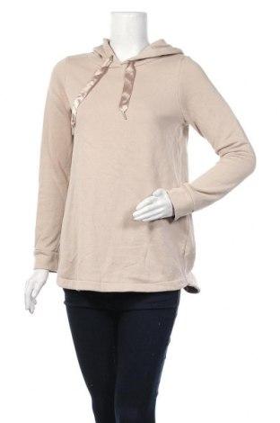 Дамски суичър Gina Tricot, Размер S, Цвят Бежов, 69% памук, 31% полиестер, Цена 17,01лв.