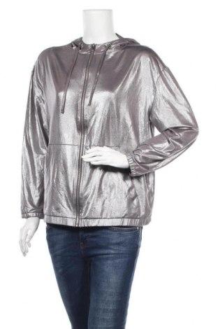 Дамски суичър H&M, Размер M, Цвят Сребрист, 96% полиестер, 4% еластан, Цена 17,33лв.