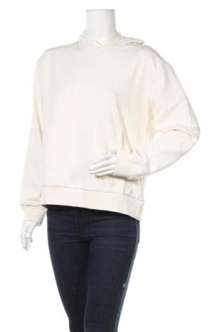 Дамски суичър Na-Kd, Размер L, Цвят Бял, 58% памук, 48% полиестер, Цена 26,55лв.