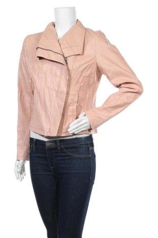 Γυναικείο δερμάτινο μπουφάν A New Day, Μέγεθος M, Χρώμα Ρόζ , Δερματίνη, Τιμή 18,57€
