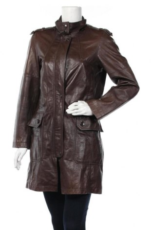 Дамско кожено яке Danier, Размер XS, Цвят Кафяв, Естествена кожа, Цена 20,34лв.