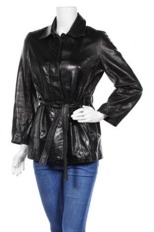 Дамско кожено яке MARC NEW YORK, Размер S, Цвят Черен, Естествена кожа, Цена 82,32лв.