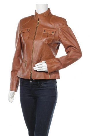 Дамско кожено яке Madeleine, Размер S, Цвят Кафяв, Естествена кожа, Цена 46,31лв.
