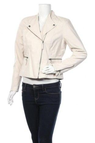 Дамско кожено яке Soya Concept, Размер M, Цвят Бежов, Еко кожа, Цена 28,48лв.