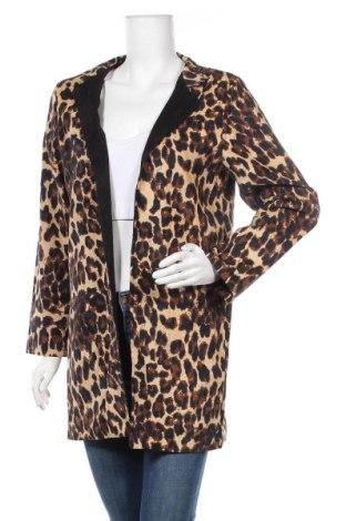 Дамско палто, Размер M, Цвят Многоцветен, 65% полиестер, 35% памук, Цена 23,68лв.