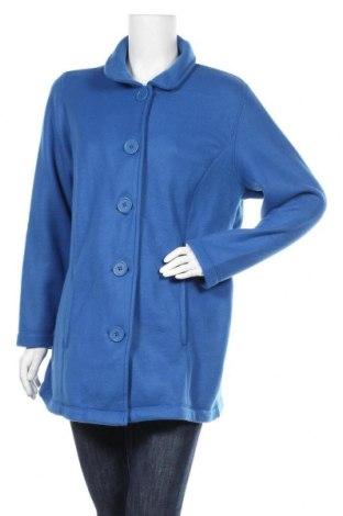 Дамско палто, Размер XL, Цвят Син, Полиестер, Цена 10,40лв.