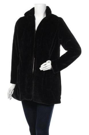 Дамско палто, Размер M, Цвят Черен, 90% полиестер, 10% еластан, Цена 14,70лв.