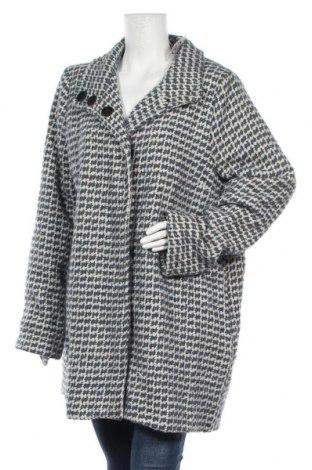 Дамско палто, Размер XL, Цвят Многоцветен, 60% други тъкани, 40% вълна, Цена 40,95лв.