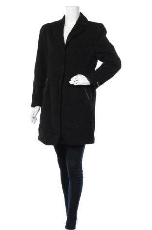 Дамско палто, Размер L, Цвят Черен, Цена 35,28лв.