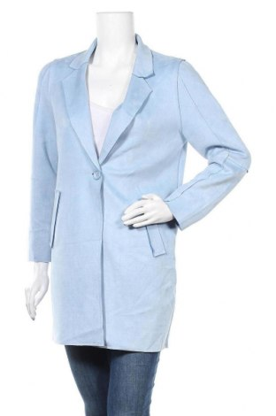 Дамско палто, Размер S, Цвят Син, Цена 28,56лв.