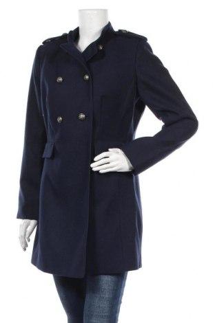 Dámský kabát  Balsamik, Velikost M, Barva Modrá, 78% polyester, 18% viskóza, 4% elastan, Cena  725,00Kč