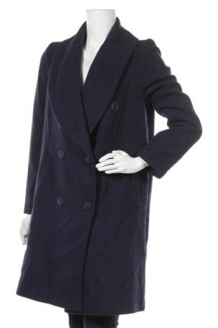 Дамско палто BelAir, Размер S, Цвят Син, 65% полиестер, 35% вълна, Цена 120,12лв.